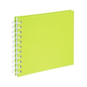 Spirálos, Kivizöld Instax Vendégkönyv, fotóalbum, scrapbook - Kivizöld